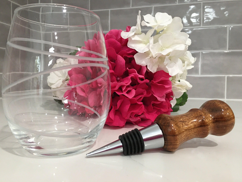 Wine Bottle Stopper Handturned Bottle Stopper Handmade Wine Wine Bottle Stoppers Wine Bottle Corks Bottle Stoppers