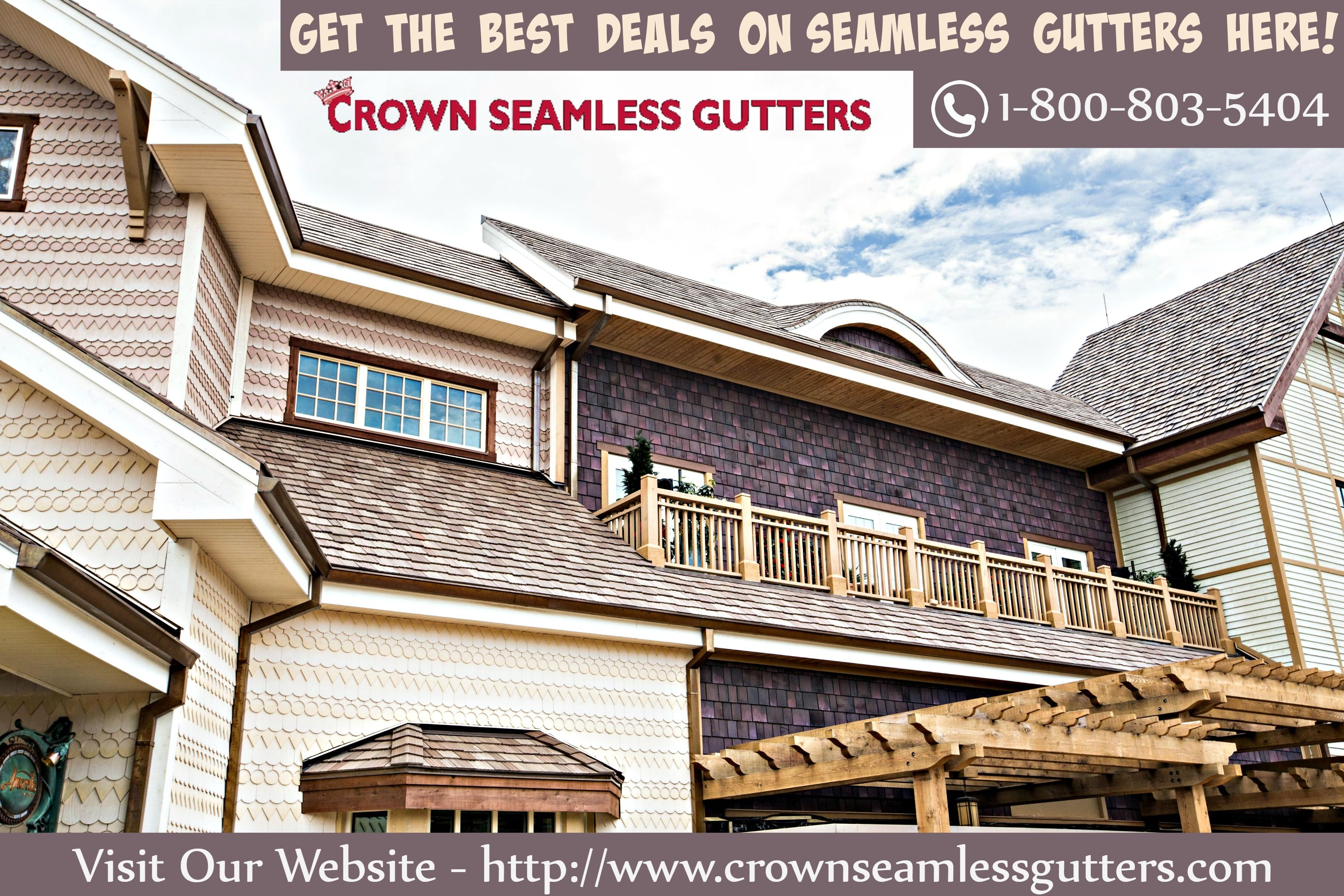 Seamless Gutters Installation & Repair in Florida