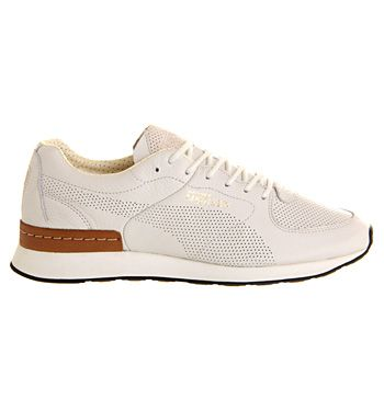 AMQ Puma Ruffien White Leather - His trainers
