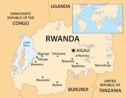Image result for rwanda map