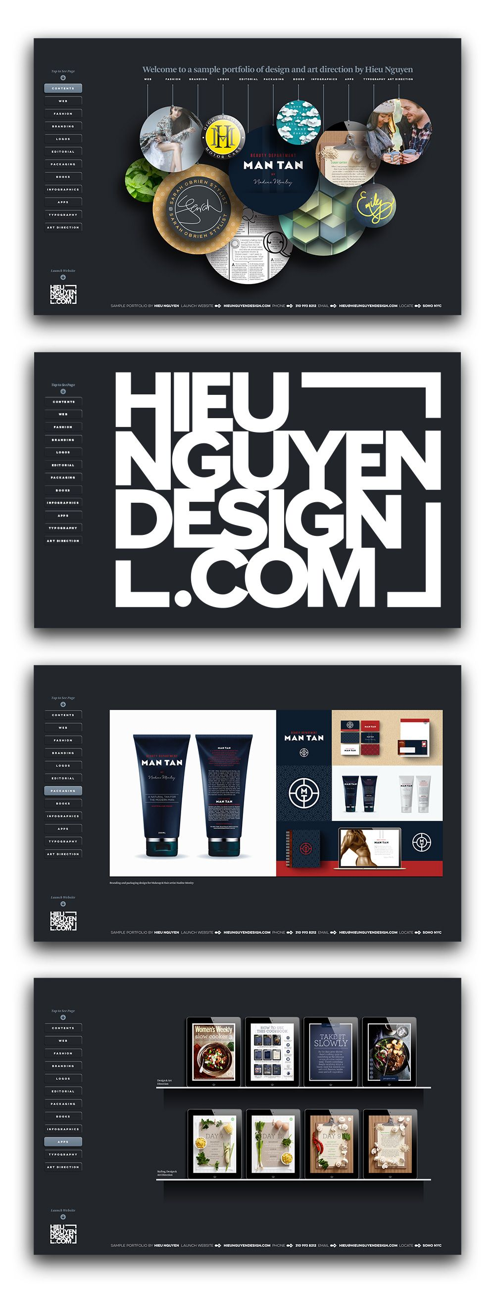 Learn How To Design An Interactive Pdf Portfolio With The Navigation Of A Website Portfolio Website Design Portfolio Web Design Graphic Design Portfolio Layout