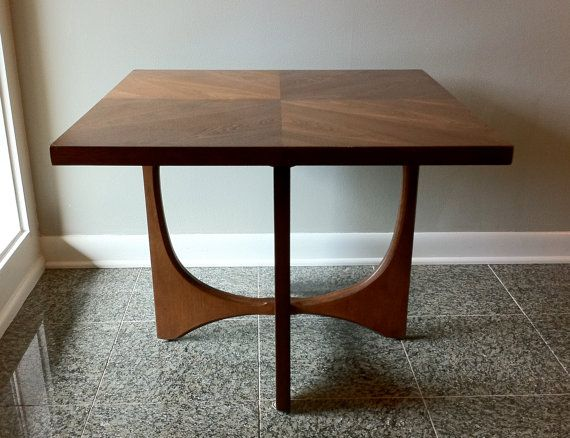 Mid Century   (set Of 2 Tables) Broyhill Brasilia Coffee And Side/End Tables