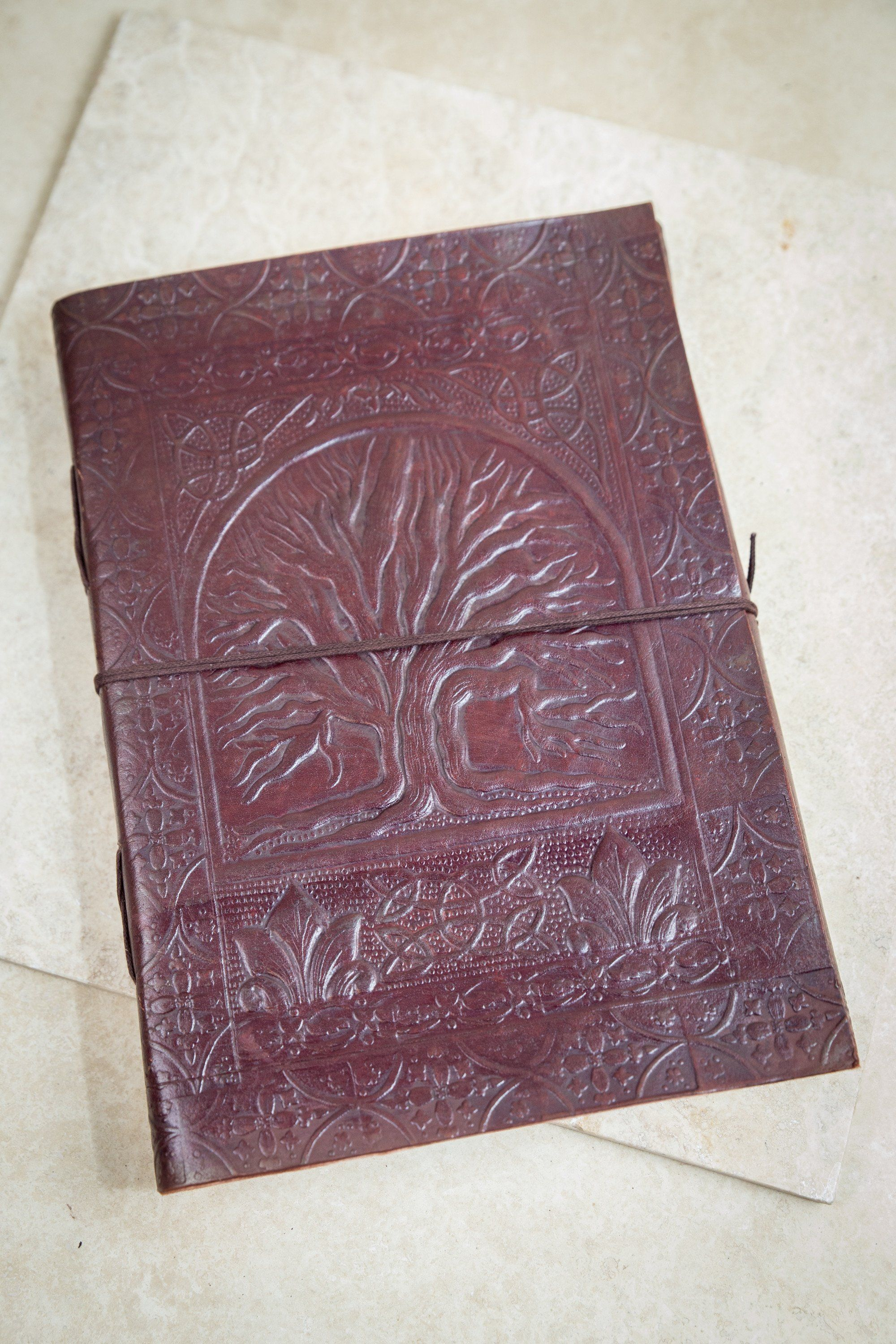 Tree of Life Leather Journal [ex-large]