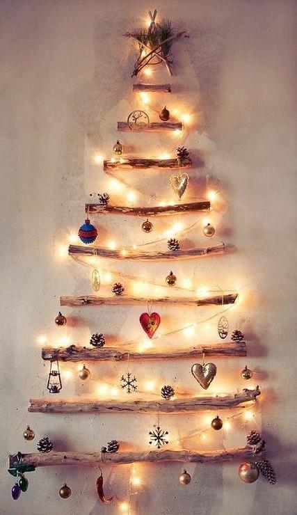 10 ideas originales para hacer tu rbol de navidad Pinterest