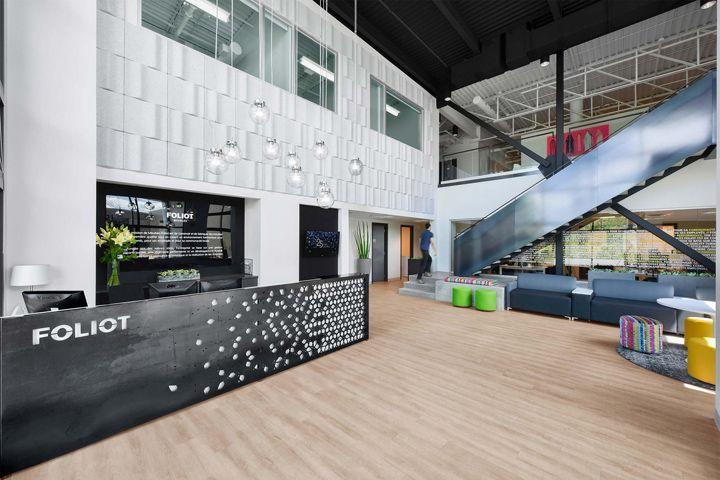 Foliot Furniture offices by Kiva Design, Saint-Jérôme – Canada