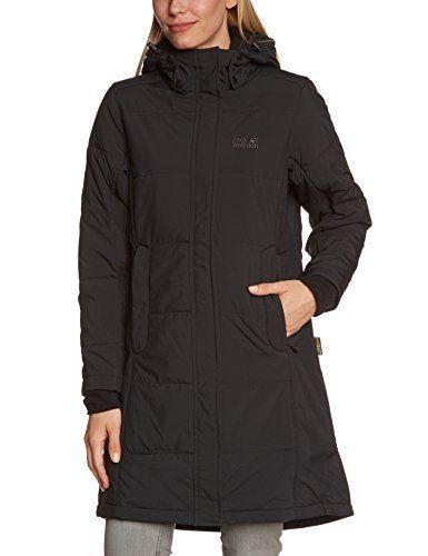 Jack Wolfskin Iceguard Women S Coat Black Black Size L By Jack Wolfskin Mantel Damen Wintermantel Damen Mantel Frauen