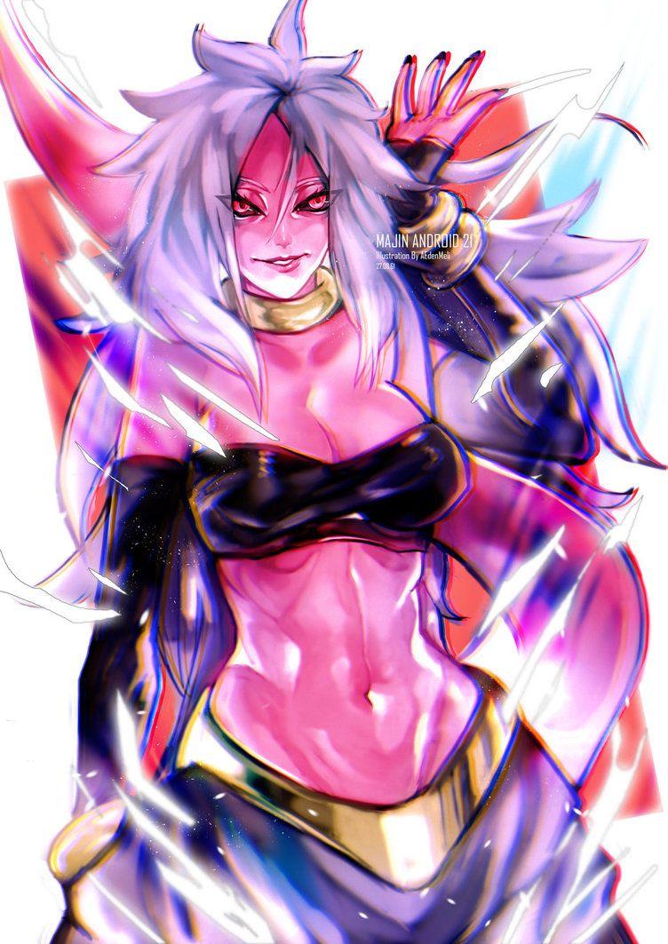Android 21 Anime, Manga anime, Android