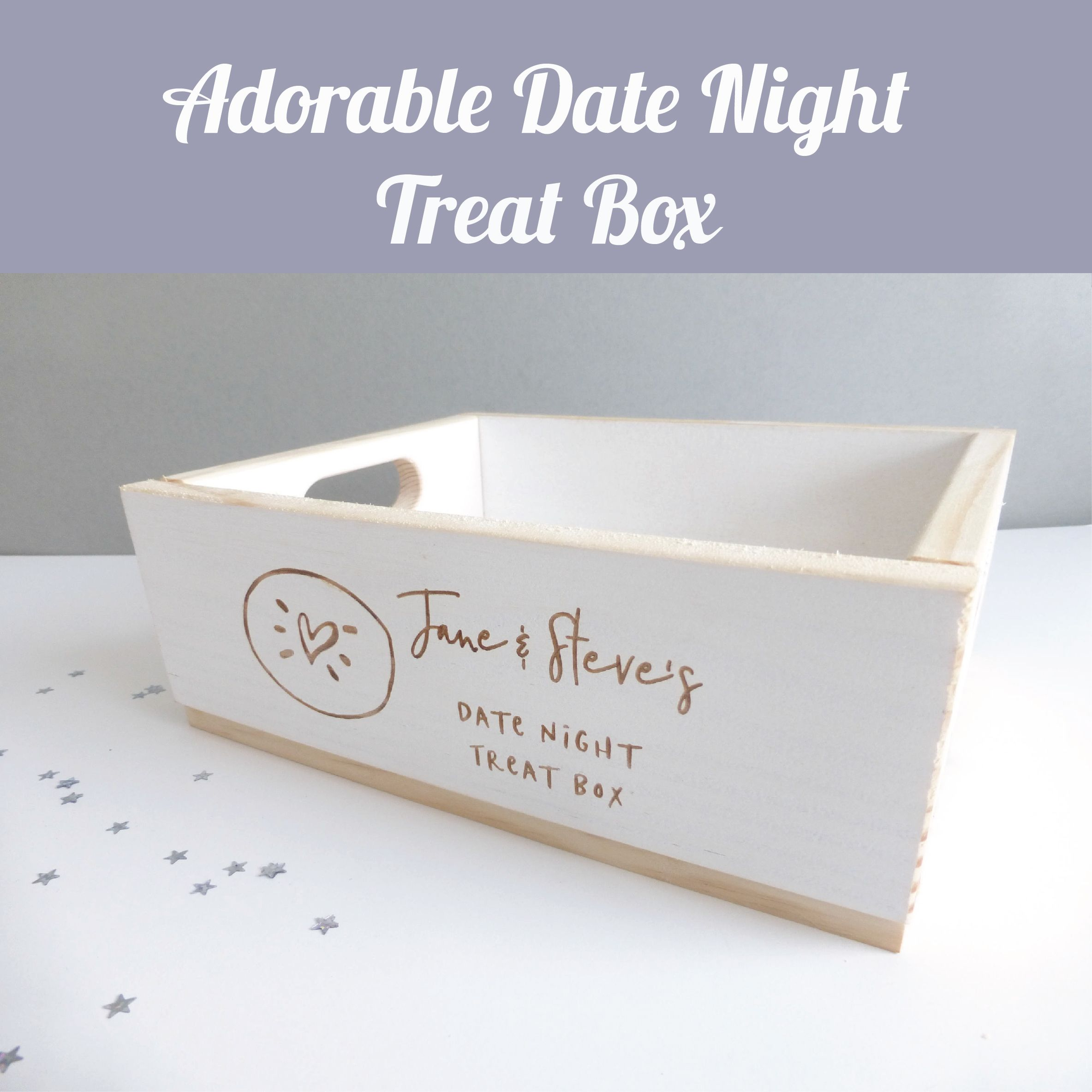 How adorable is this date night treat box?! I love it! Prefect for a ...