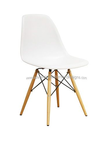 Molded Plastic Side Chair With Dowel Leg Base Plastic Dining Chairs Side Chairs Chair
