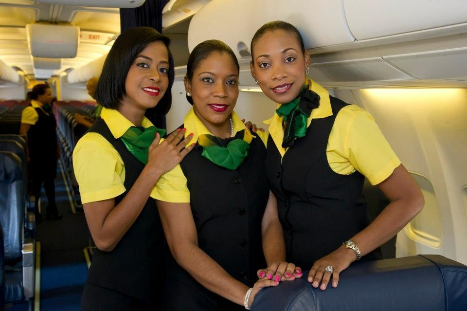 Fly Jamaica Airways Aviation  Airlines Uniform ในปี 2018