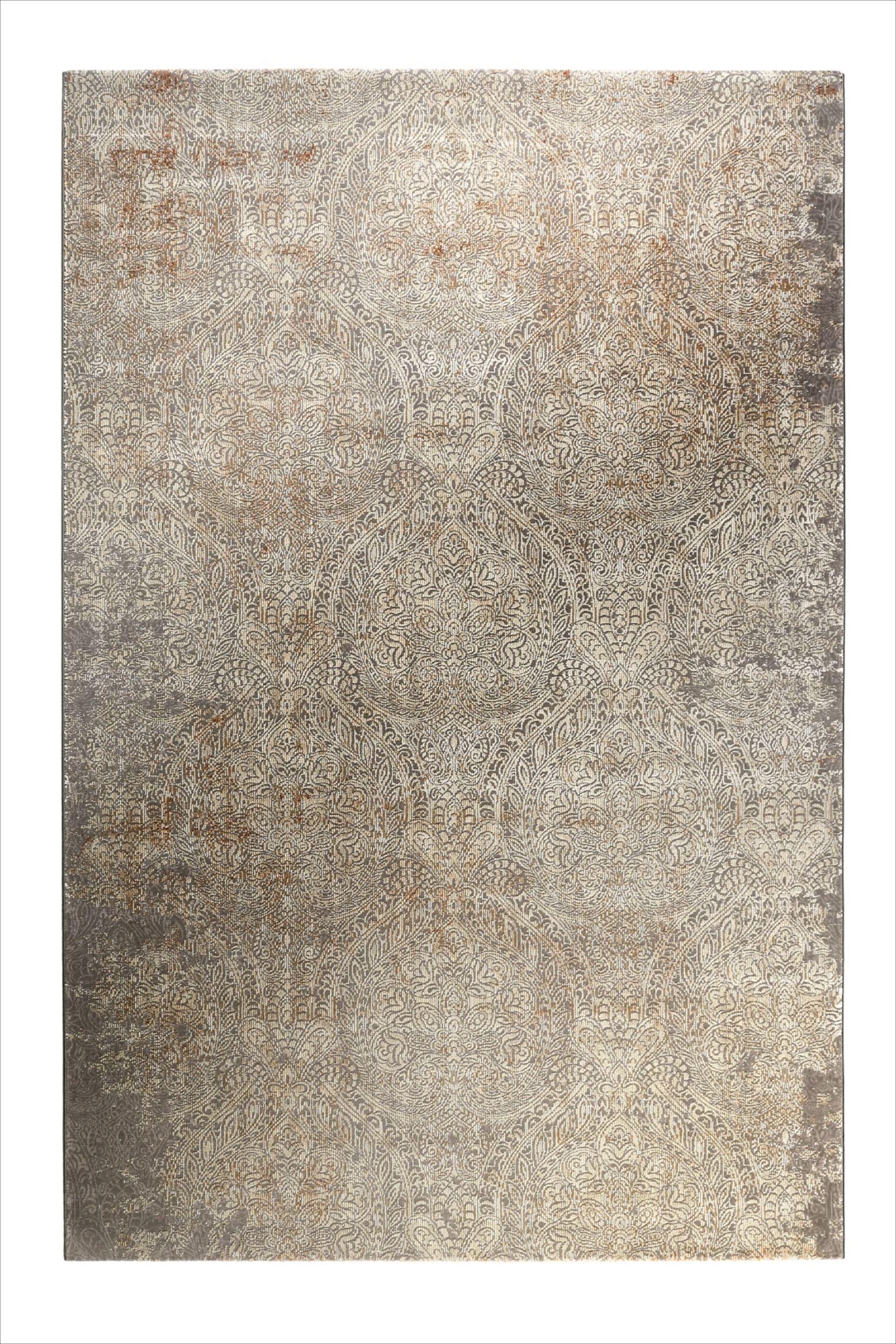 Teppich Grau Baroque Vintage Wecon Home In 2020 Teppich Grau Gemusterte Teppiche Teppich