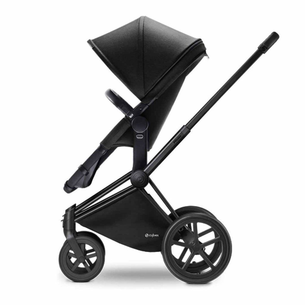 Cybex Priam Pushchair with 2in1 Seat in Black Chassis