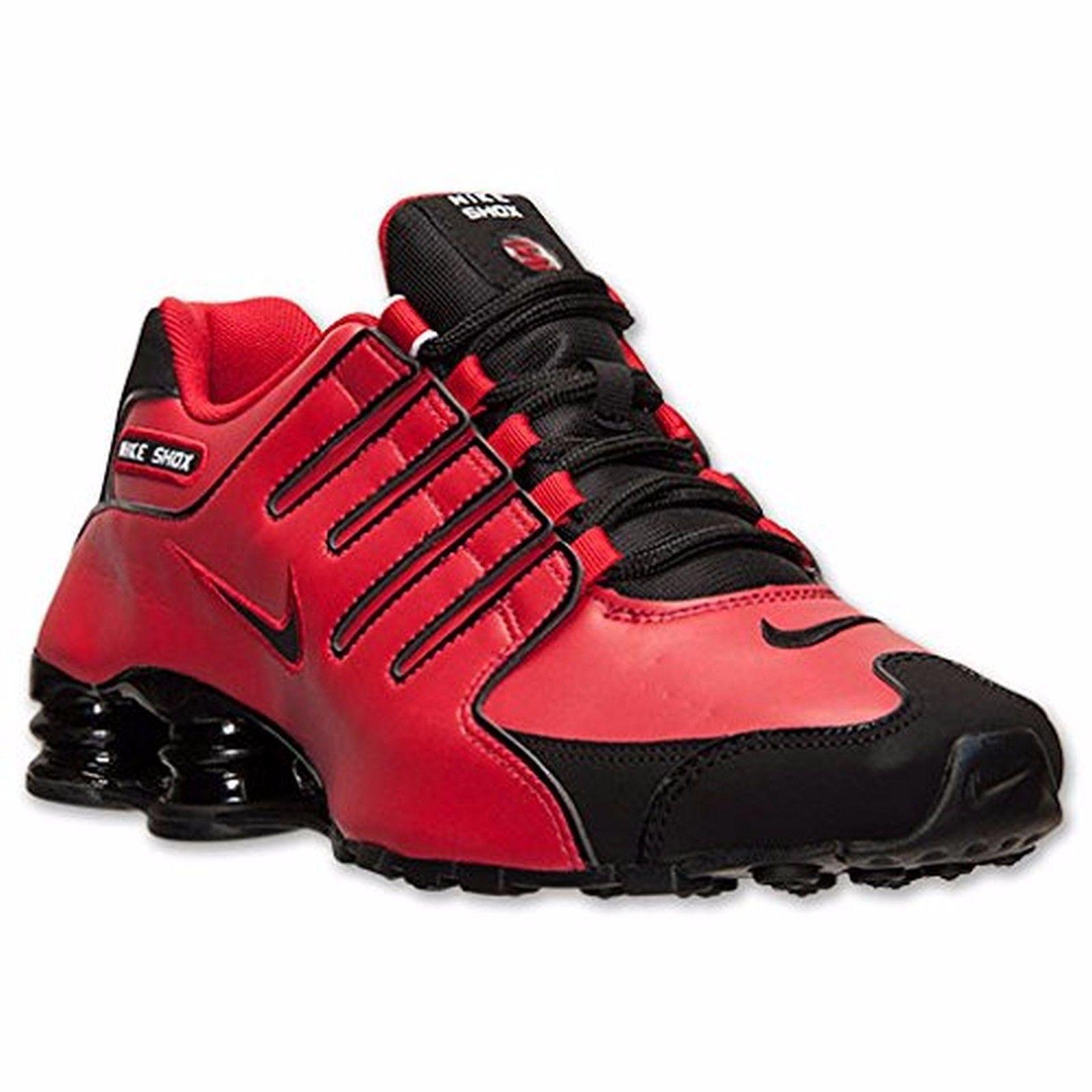 Nike Shox NZ Shoe Mens size 8.5 378341 600 University Red