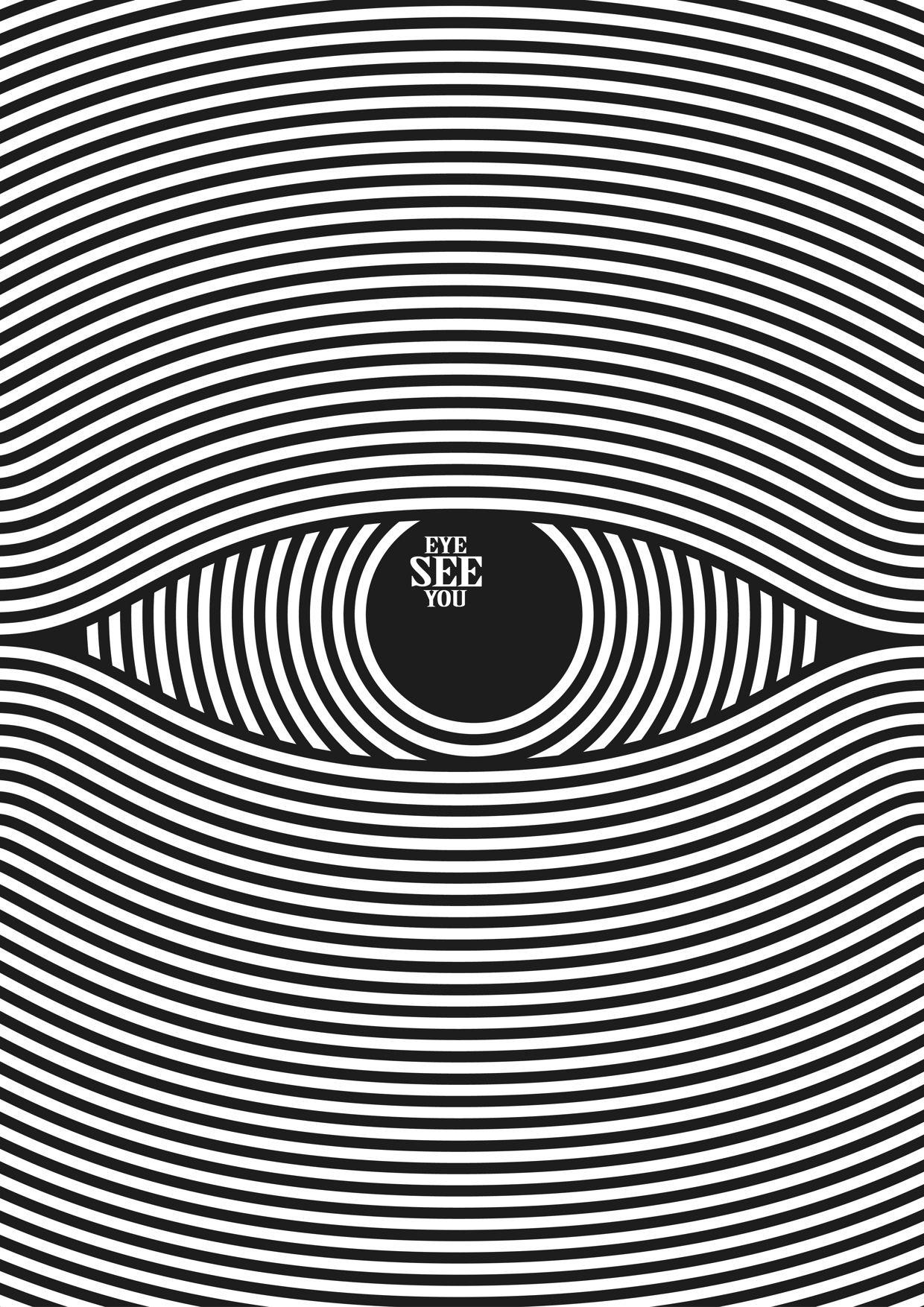 eye see you by franck nederstigt [ 1240 x 1754 Pixel ]