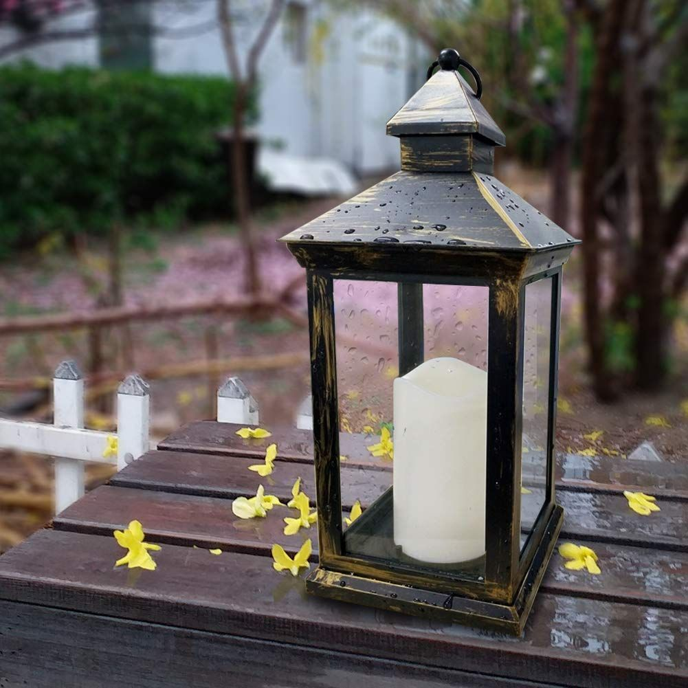 Fall Porch Decor Ideas Mohawk Home Lanterns Decor Led Pillar Candle Hanging Candle Lanterns