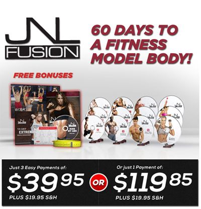 JNL Fusion is a workout series that will get you that model body in just 60 days!