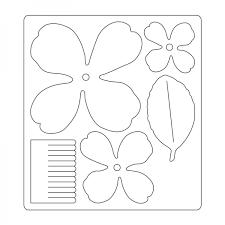 Znalezione Obrazy Dla Zapytania Szablony Kwiatow Do Wyciecia Felt Flowers Diy Flower Template Paper Butterflies