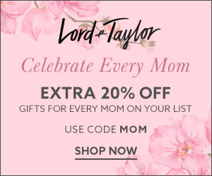New Offers and Deals: EXTRA 20% Off Promo Code at Lord Taylor