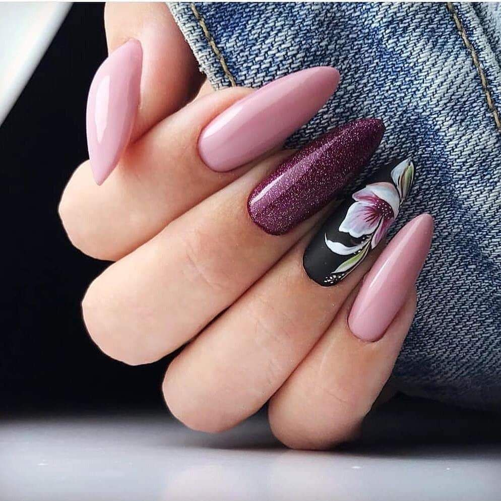 April 2020 Manicure The Real Spring Of Ideas Unghie Gel Unghie