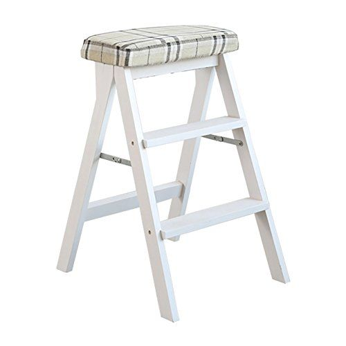 Fabulous Zxl White Step Stool Dining Stool Foldable Kitchen Living Evergreenethics Interior Chair Design Evergreenethicsorg