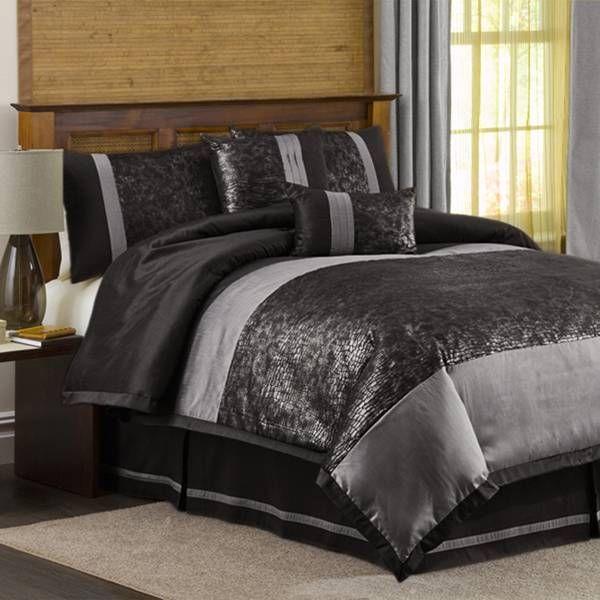 metallic blue velvet comforter bed set Metallic Animal Bedding