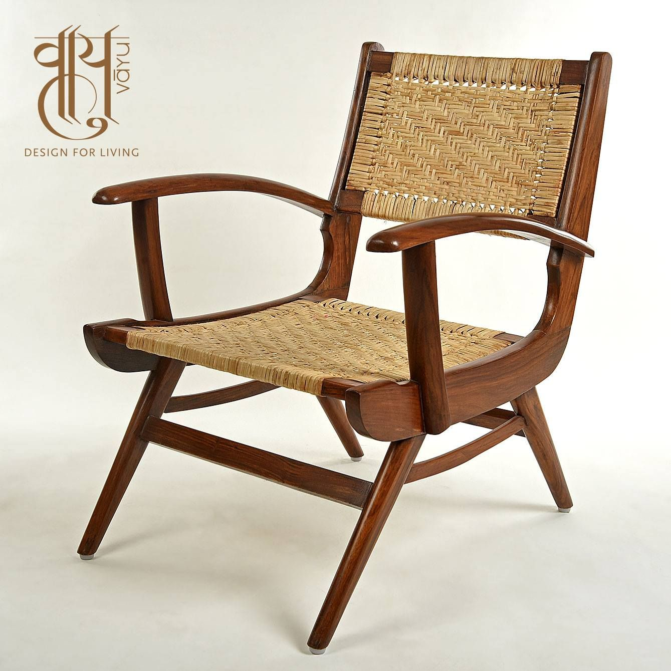 Wooden Chair  Simplicity is synonymous to sophistication. Stunning chairs available at Vayu - Design For Living!