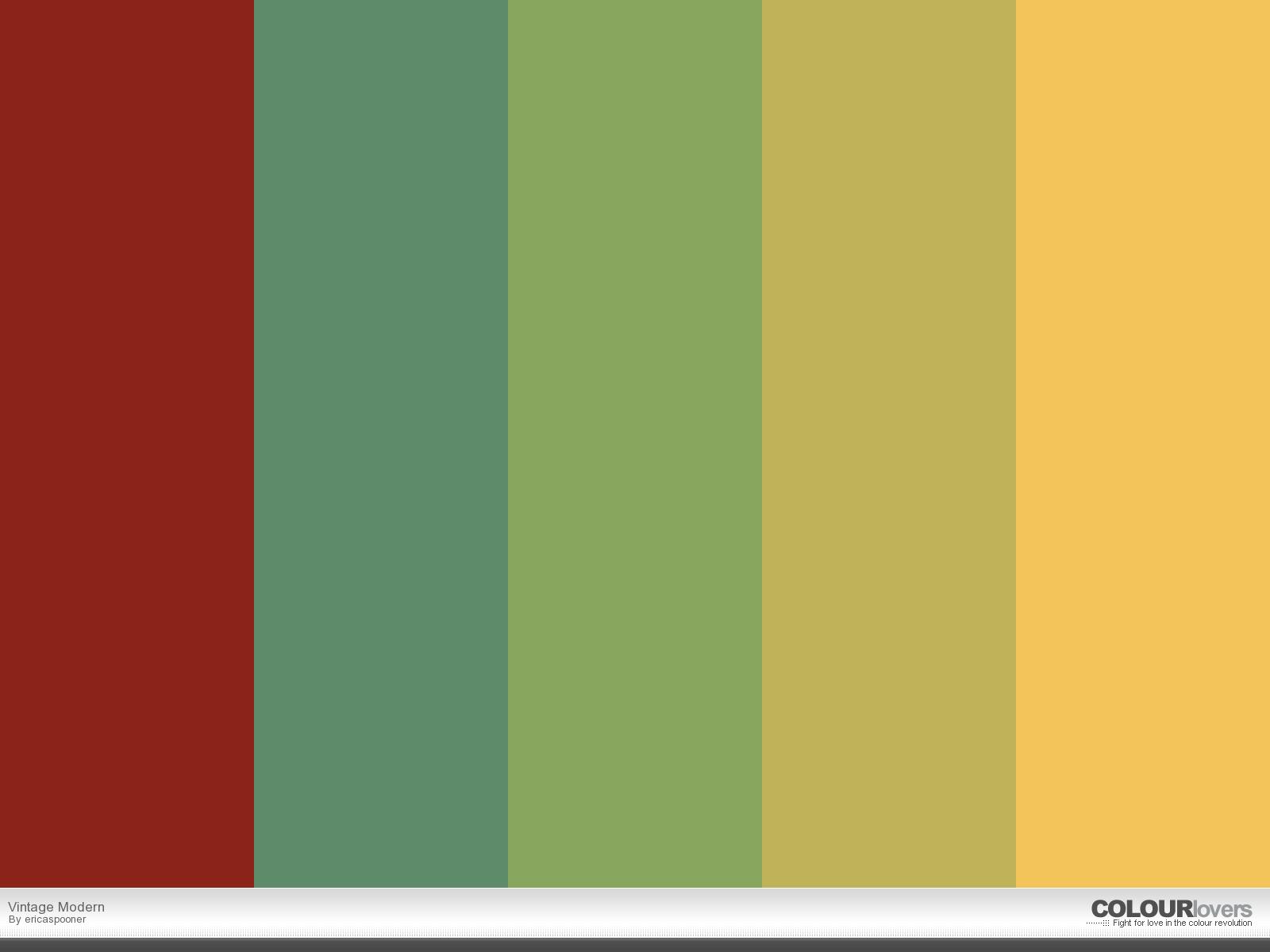 Vintage Color Palettes 17