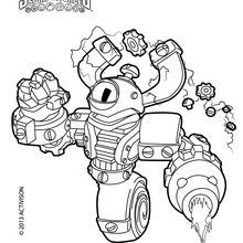 Skylanders Swap Force Coloring Pages Free Printables