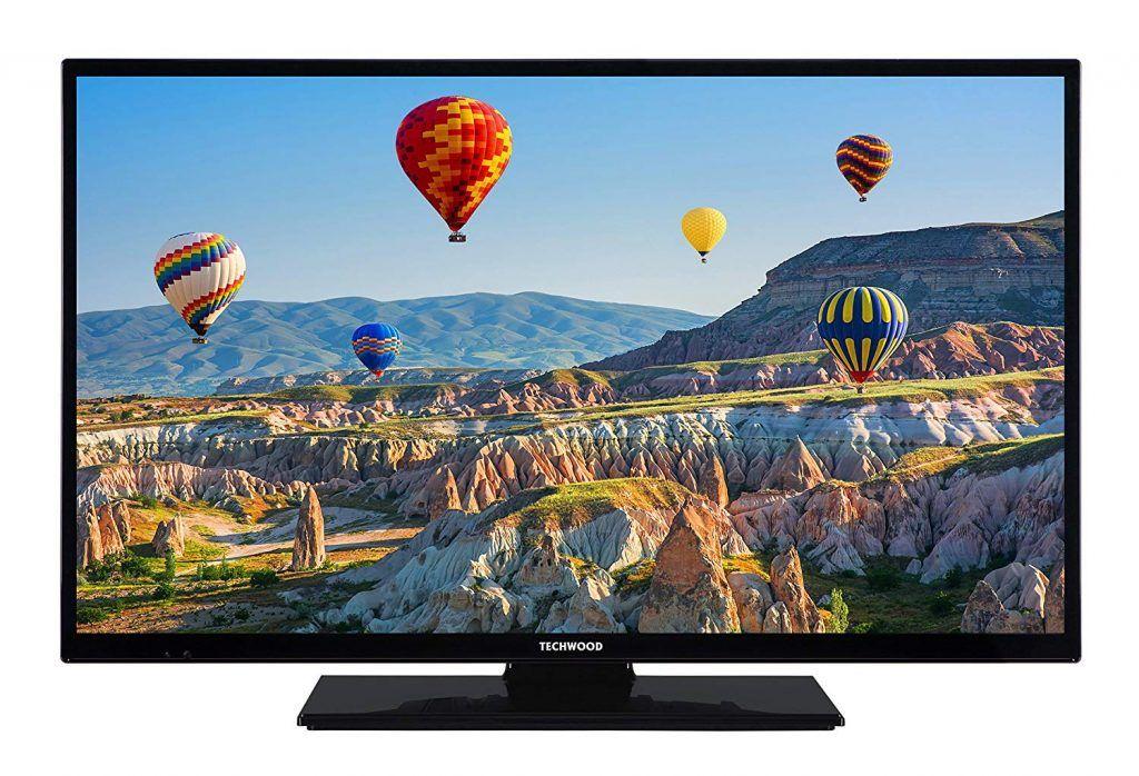 Techwood H32t11a 81cm 32 Zoll Fernseher Hd Ready Mit Triple Tuner