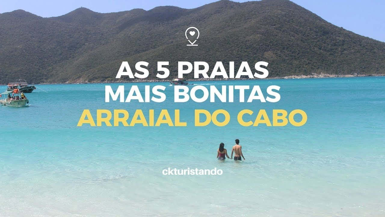 As 5 Praias Mais Bonitas De Arraial Do Cabo Arraial Do Cabo
