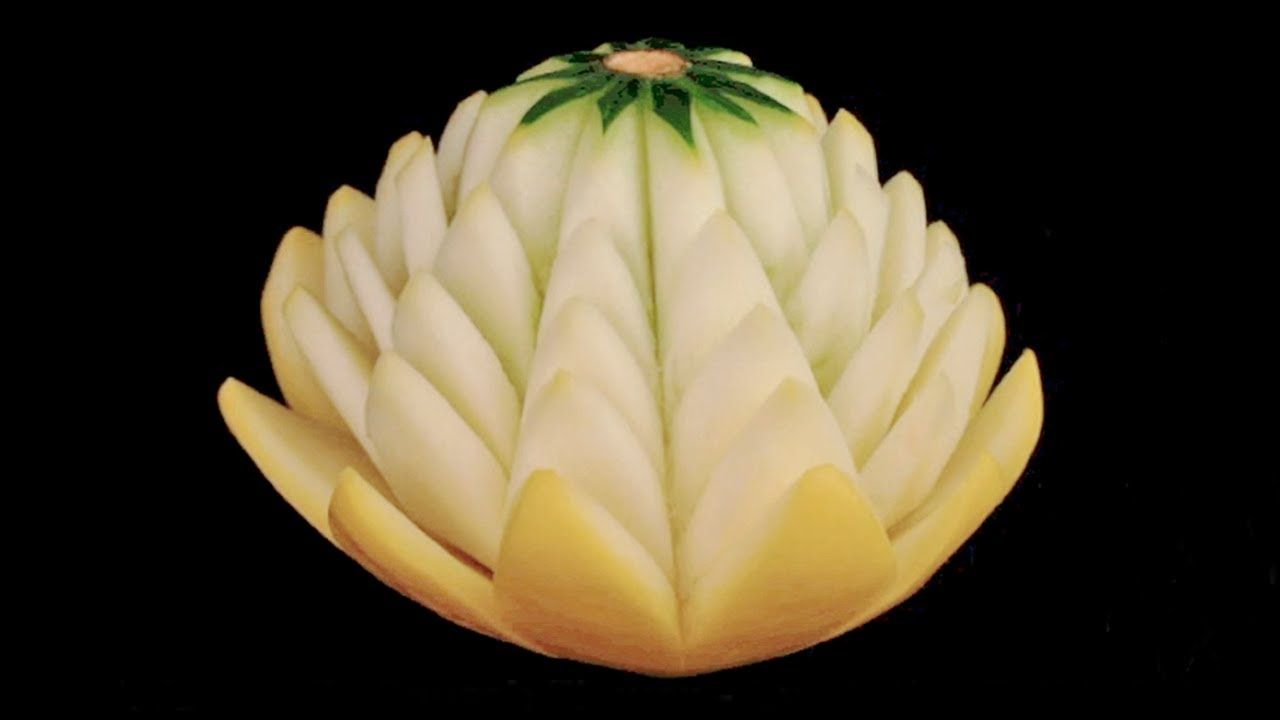 The water lily squash flower beginners lesson 32 by mutita the art food the water lily squash flower izmirmasajfo