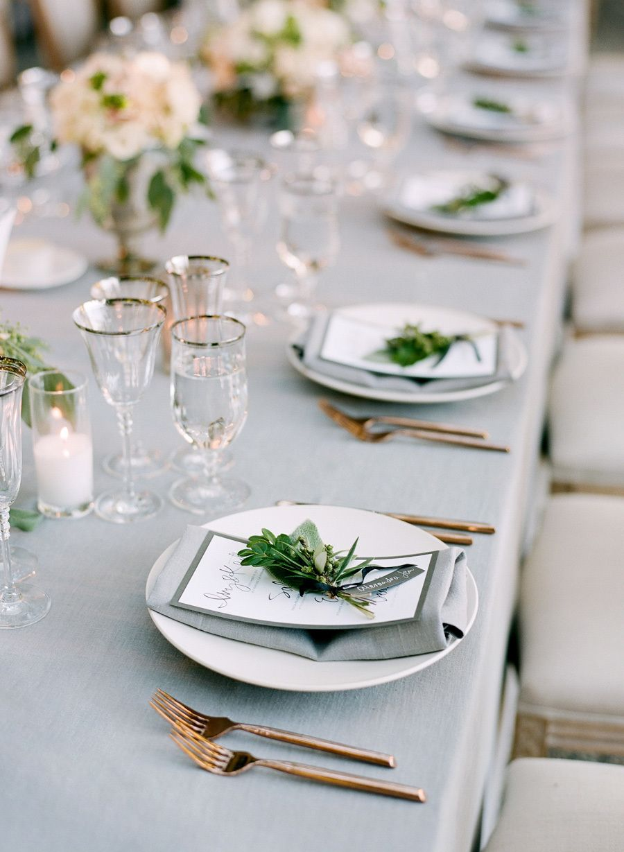 See How a Fall Garden Wedding is Perfectly Done