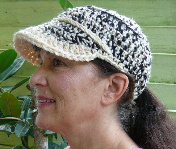 PATRÓN de CROCHET: Sombrero de béisbol del invierno, casquillo ...
