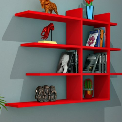 Lower Part Of Wall With Accent: Metro Lane Skegness Accent Shelf