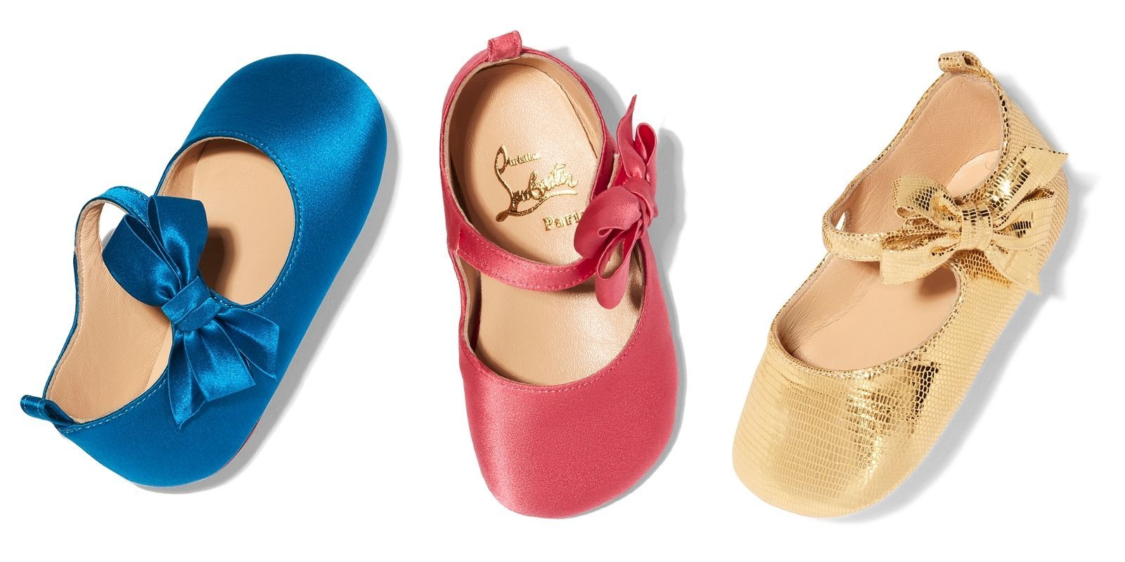 sold worldwide entire collection footwear Christian Louboutin Has Launched a Line of Red-Soled Baby Shoes ...