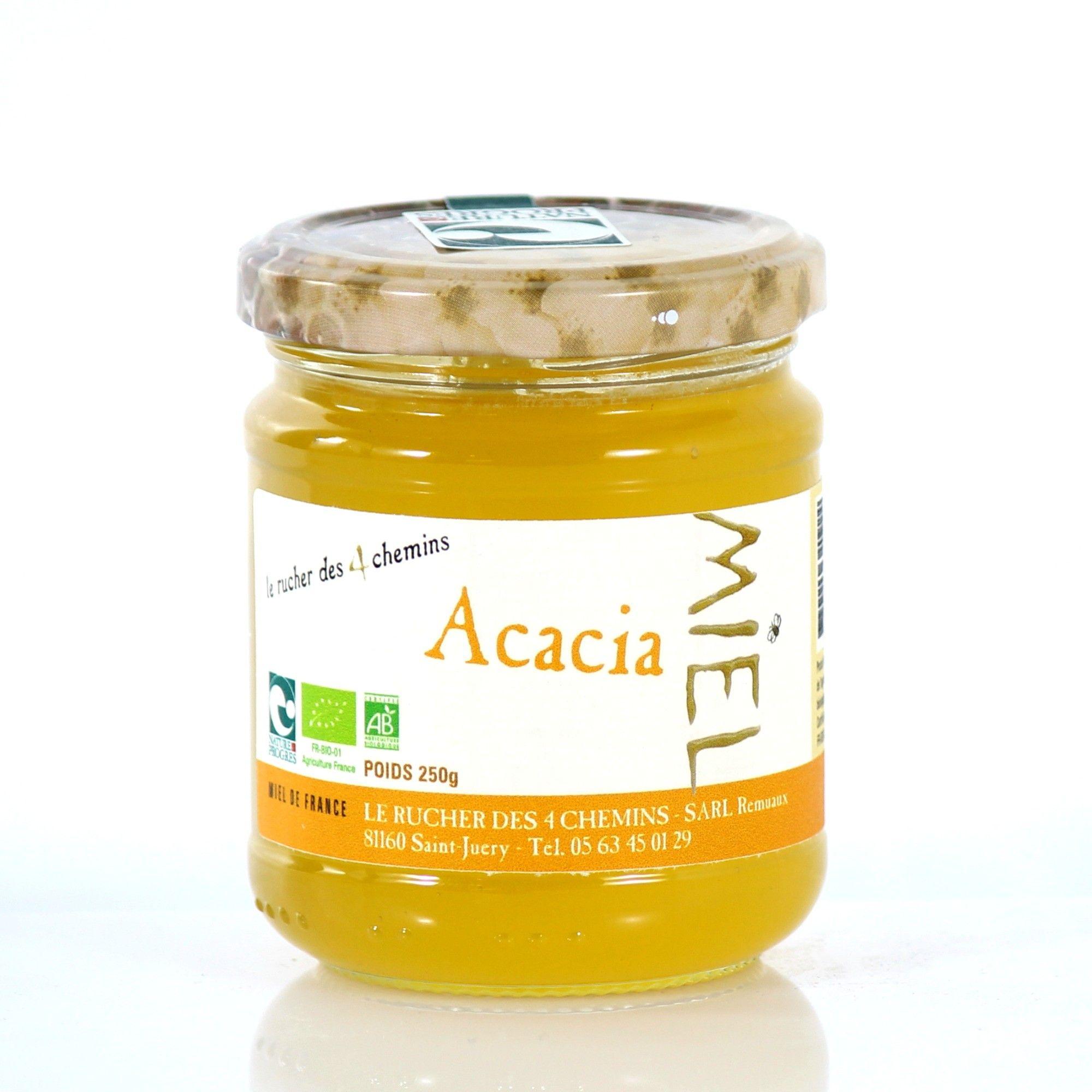miel d'acacia en anglais