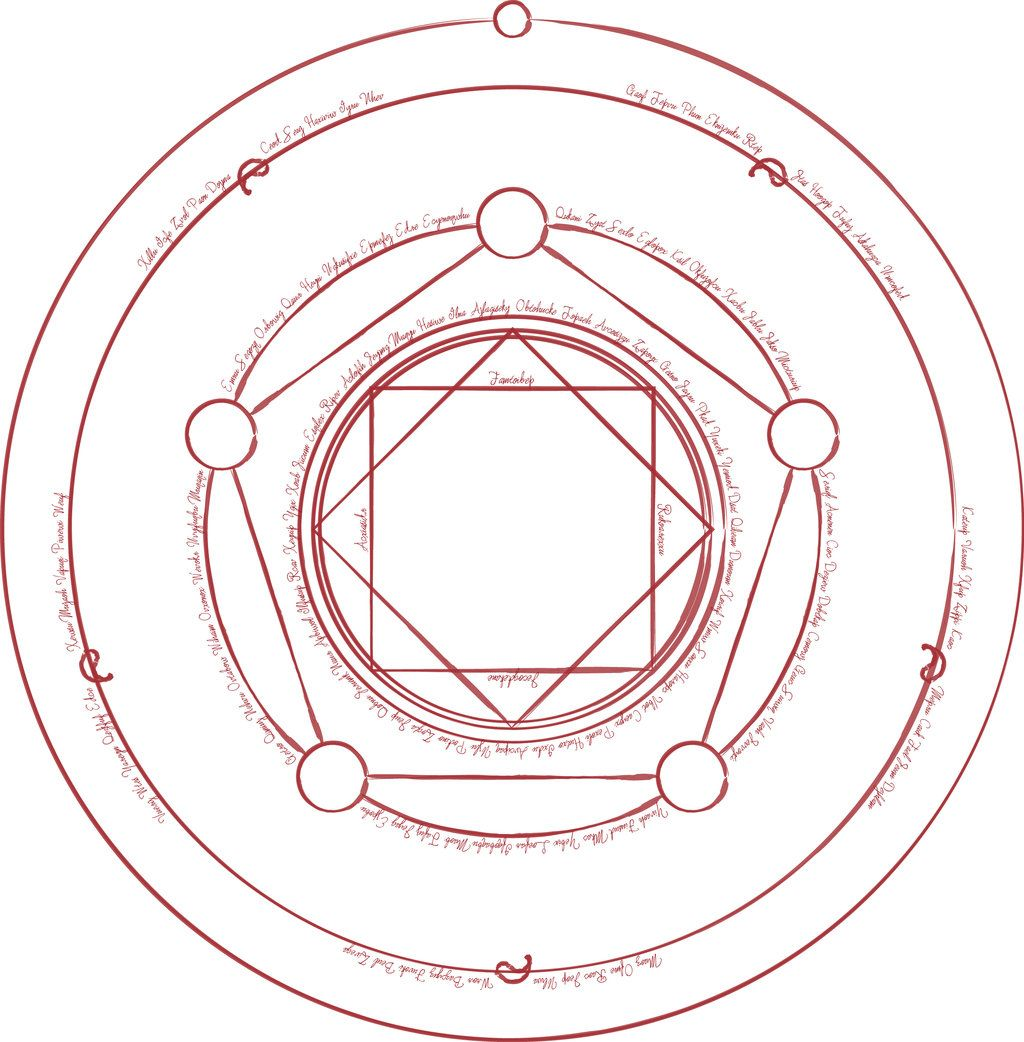 Human Transmutation Circle For Edward On Deviantart Jpg 1024x1042 Fullmetal Alchemist