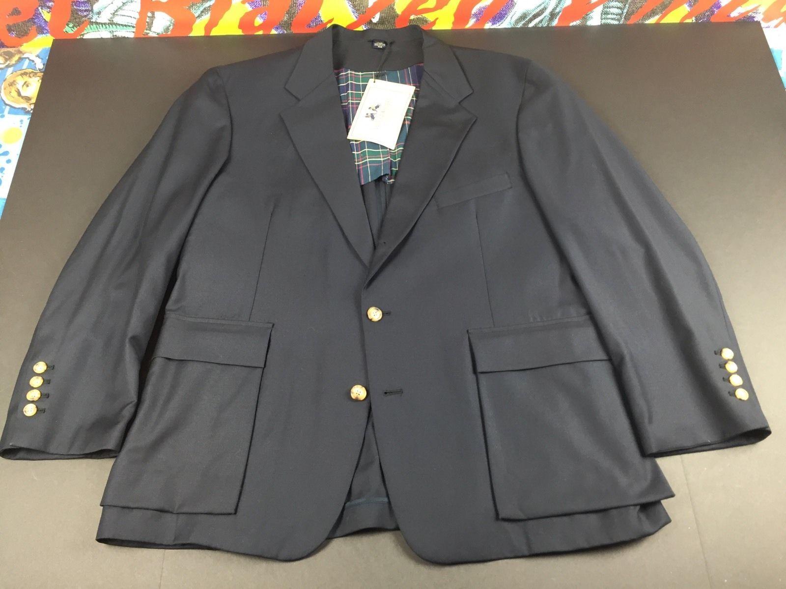 Willis & Geiger Navy Safari Blazer Jacket Sport Coat