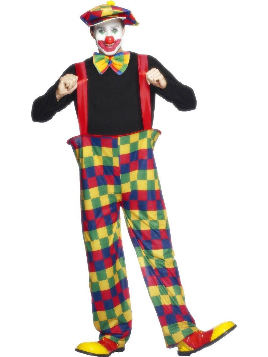 Disfraz De Payaso Con Pantalones De Aro Ancho Mis Disfraces Disfraz De Payaso Payasos Pantalon De Payaso