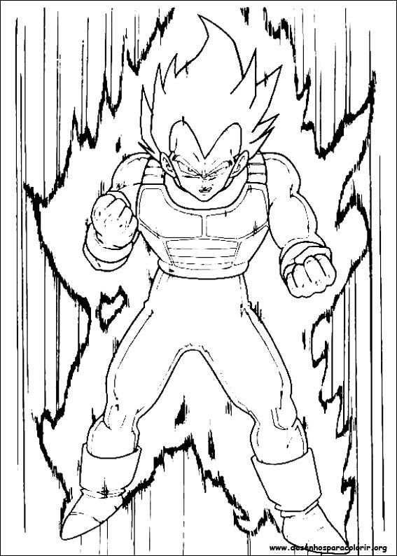 Dragon Ball Z Vegeta Coloring Pages Read Dragon Ball Manga Online at ...