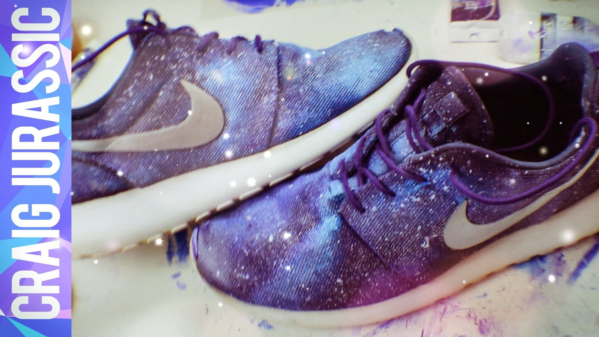 DIY GALAXY SHOES! (Nike Roshe Runs). This DIY is an Upcycle from