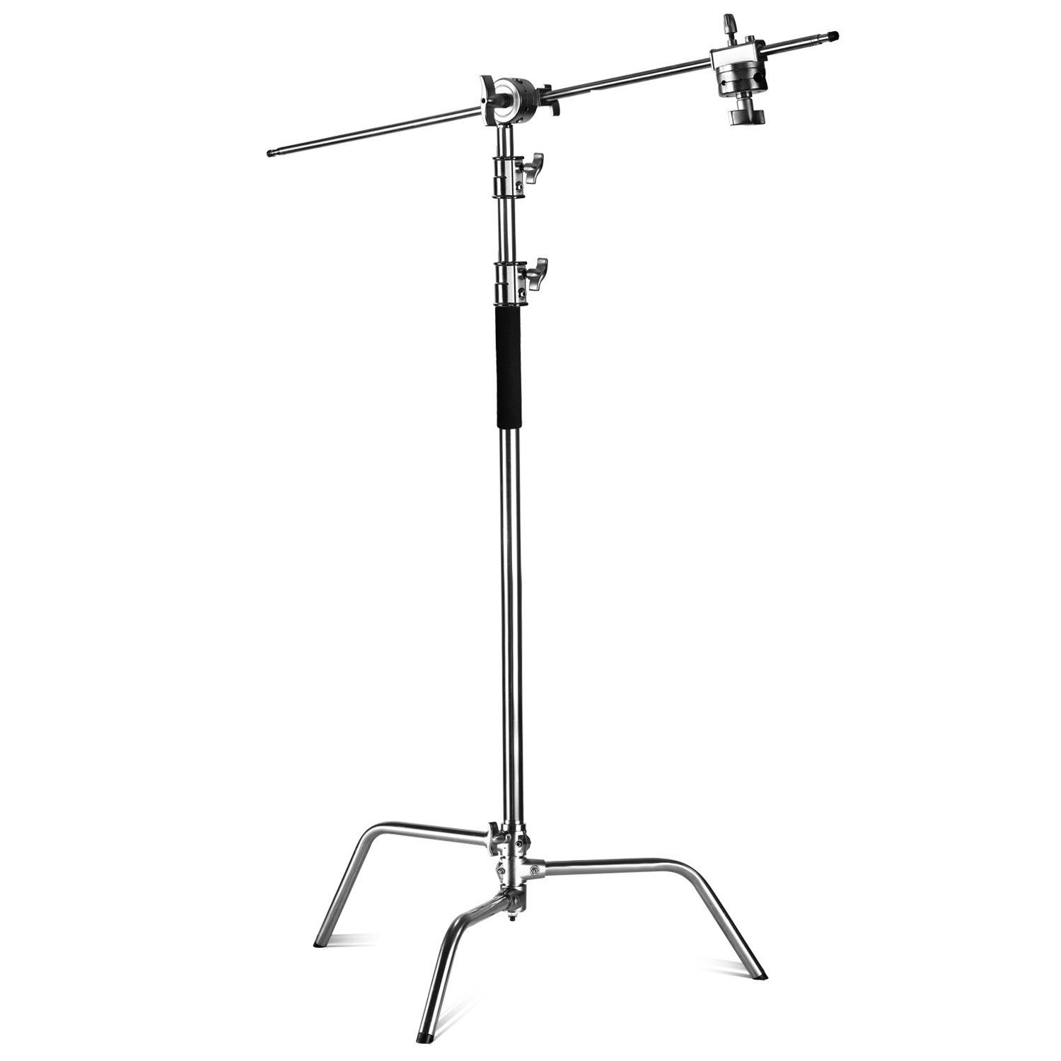 Neewer Pro 100 Metal Max Height 10ft 305cm Adjustable Reflector Stand With 4ft 120cm Holding Arm And 2 Pie Reflector Photography Studio Photography Reflectors