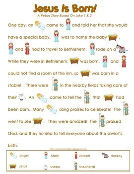 Christmas Story For Preschoolers.Christmas Nativity Preschool Pack Christmas Kids Stuff