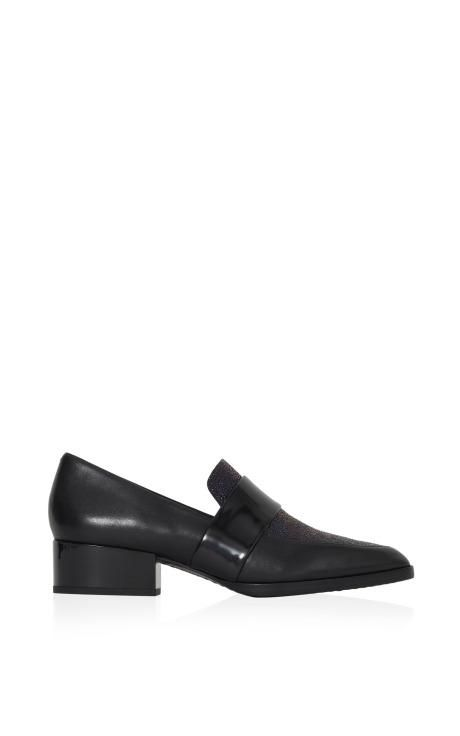 Quinn Loafer In Black And Petrol by 3.1 Phillip Lim for Preorder on Moda Operandi
