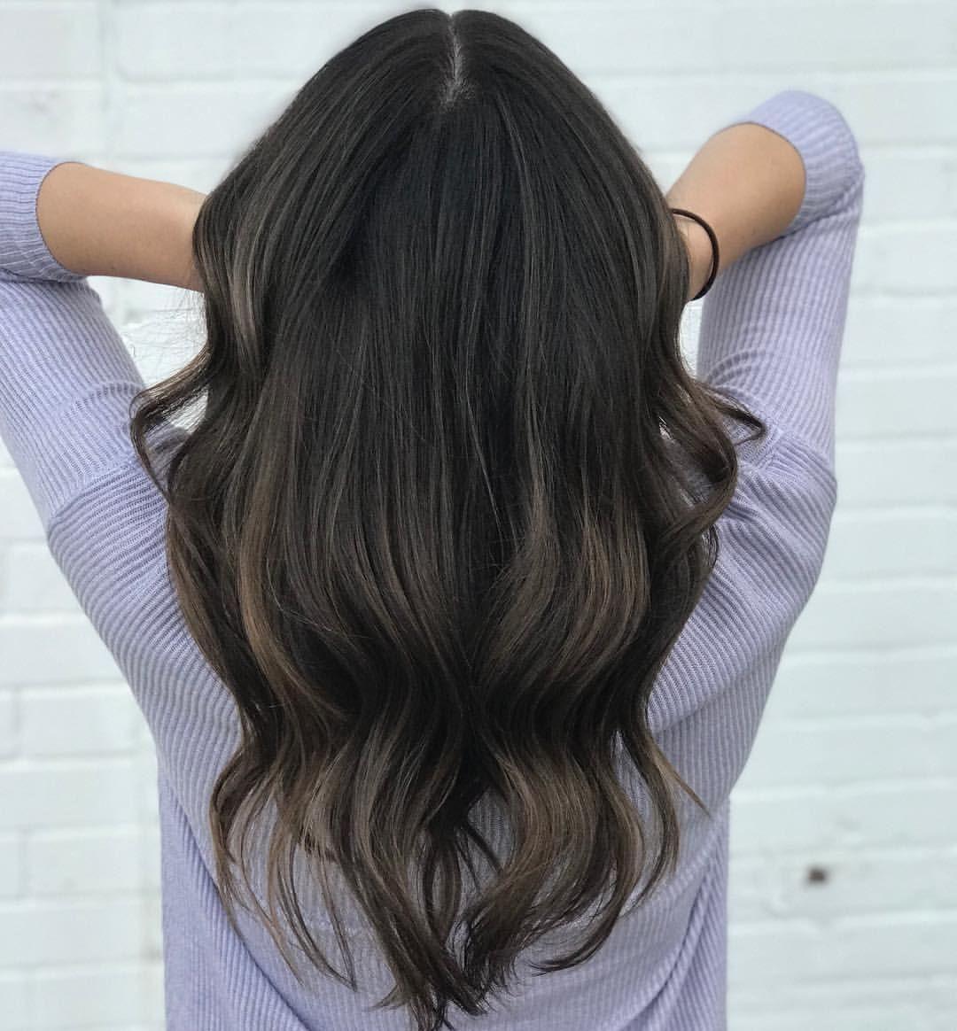 Soft And Subtle Ash Brown Balayage Balayage Balayagehair Brunette Balayagehighlights Brondeba Aveda Hair Color Brown Hair Balayage Ash Hair Color