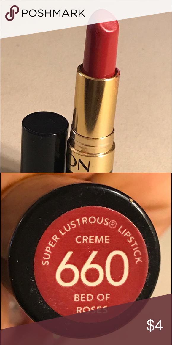 Revlon Superlustrous Lipstick Bed Of Roses