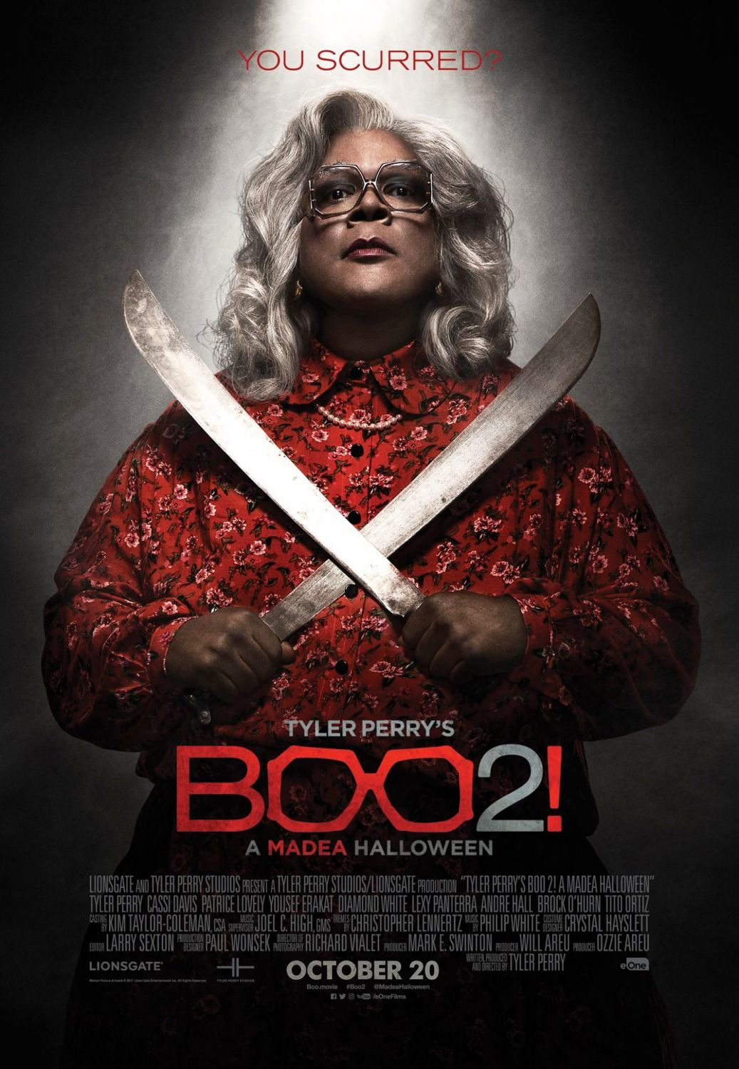 Return to the main poster page for Boo! A Madea Halloween