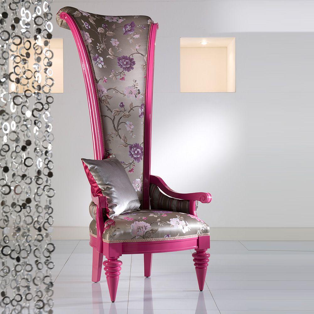 Fino High-back Wood Throne Chair  The Chair Market  High back