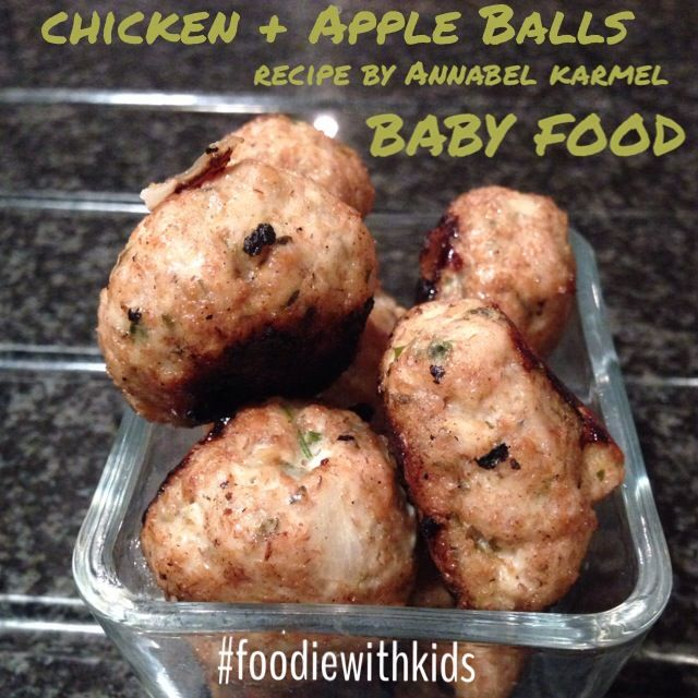 This recipe is from annabel karmels cooking book for babys first this recipe is from annabel karmels cooking book for babys first foods the chicken balls forumfinder Choice Image