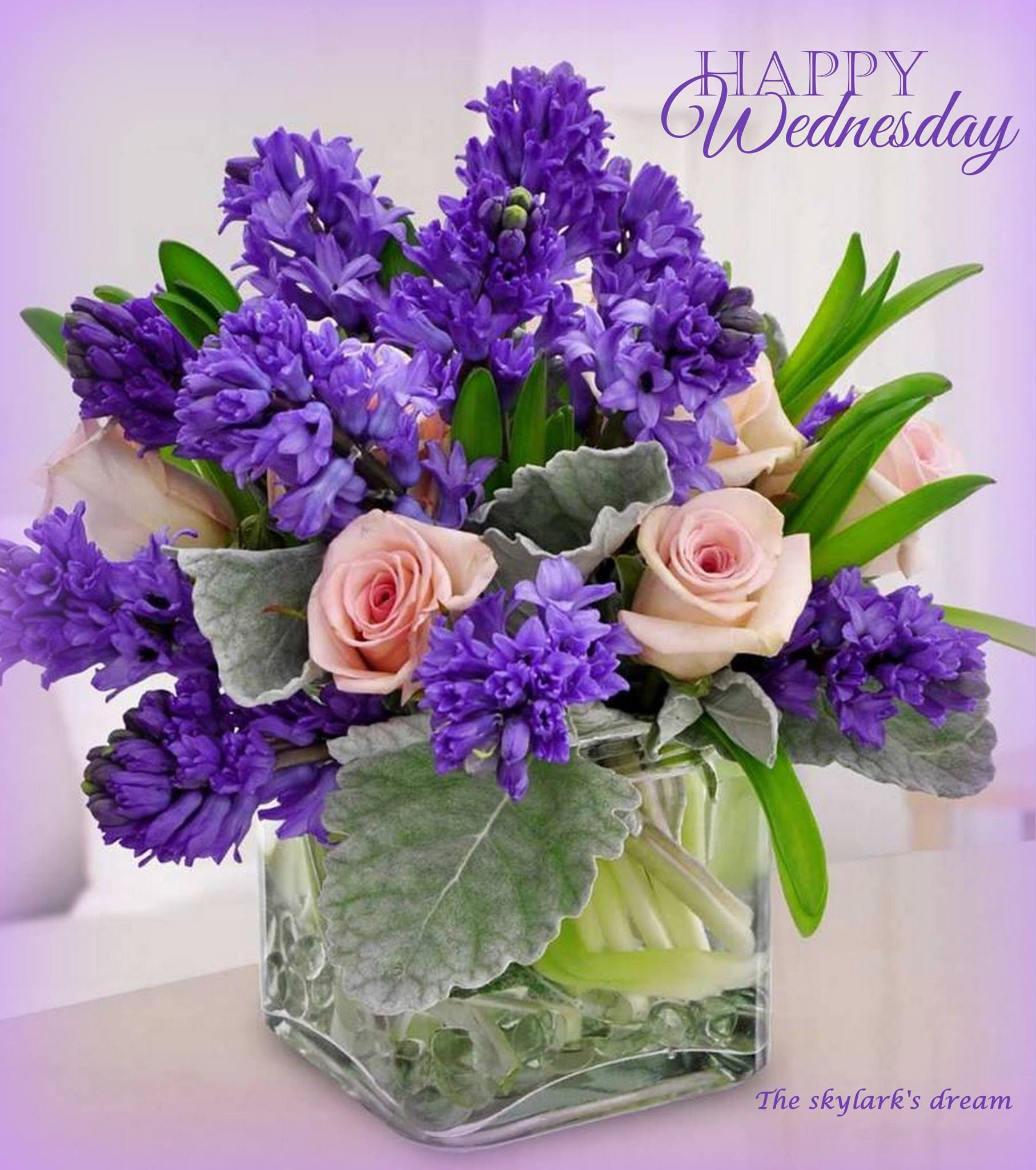 Happy Wednesday Quotes & Blessings - Good Morning Fun |Wednesday Flowers